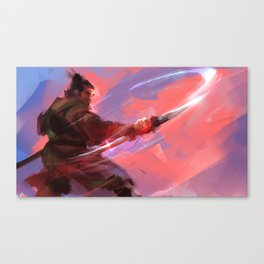 Swordsman Canvas Print