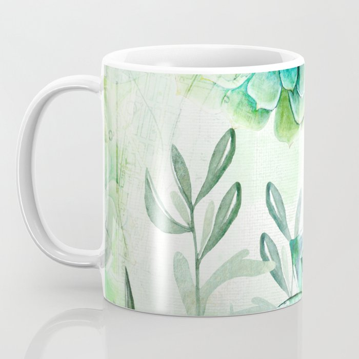 Irish Mint Garden Coffee Mug