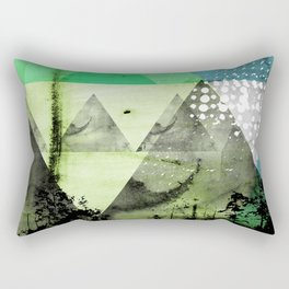 Abstract Geometry V3  Rectangular Pillow