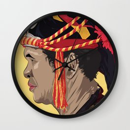 Nias Warrior Wall Clock