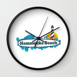 Hammocks Beach State Park. Wall Clock