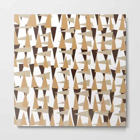 brown spearheads Metal Print