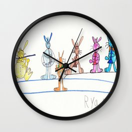 Maestro on Stage Wall Clock