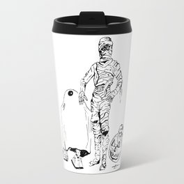 These Aren't The Droids You're Looking For? Inktober Drawing Travel Mug