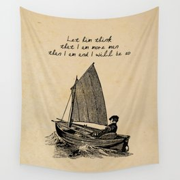 Ernest Hemingway - The Old Man and the Sea Wall Tapestry
