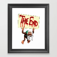 This is the End Framed Art Print