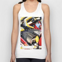 motorcycle Tank Tops featuring Motorcycle by Carlo Toffolo