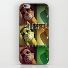 Strange Model iPhone & iPod Skin