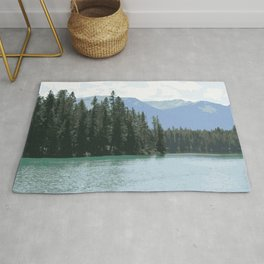 Mountain Waters Calming and Clear Rug