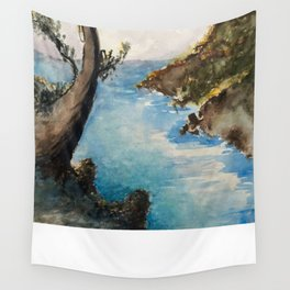 Japanese Landscape Wall Tapestry