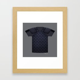 Armor Series: Stealth Studded Leather Framed Art Print