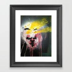 See For Vendetta Framed Art Print