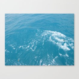 Calm Ocean Waves Canvas Print