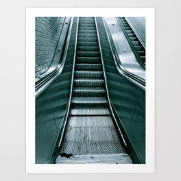 Up or Down? Art Print