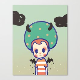 i need some courage Canvas Print