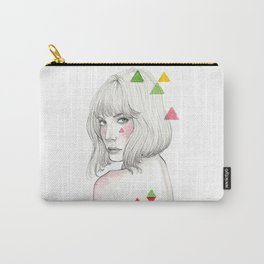 Color geometry Carry-All Pouch