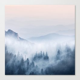 Pastel landscape 03 Canvas Print