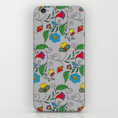 Ethnic Floral Flow iPhone & iPod Skin