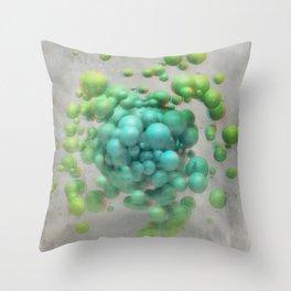 Anaglyph // Pandemonium Throw Pillow