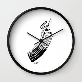Magazine Wall Clock