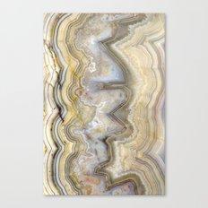 Jagged Agate Canvas Print