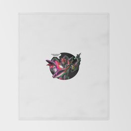 Transformers Grave Robber KnockOut  Throw Blanket