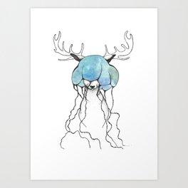 dear//deer Art Print