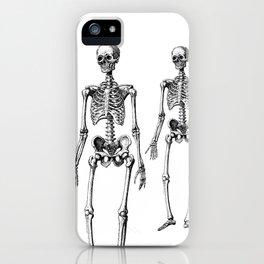 Three Skeletons iPhone Case