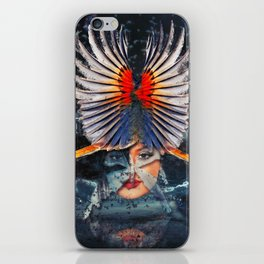War Goddess iPhone Skin