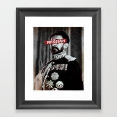Messiah. Framed Art Print