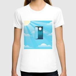 Knocking on heaven's door T-shirt