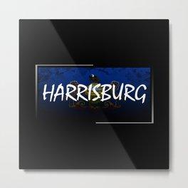 Harrisburg Metal Print