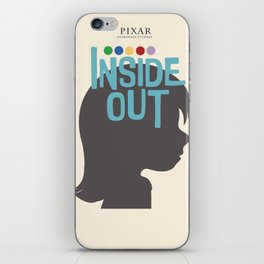Inside Out - Minimal Movie Poster iPhone Skin