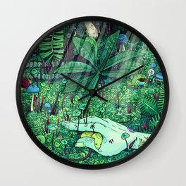 Death and Consequence Wall Clock