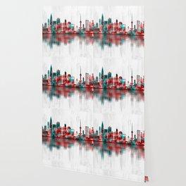Seoul South Korea Skyline Wallpaper