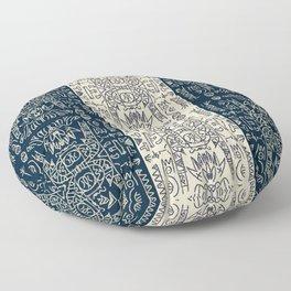 Totem Pole Floor Pillow