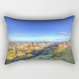 Edinburgh City View Rectangular Pillow