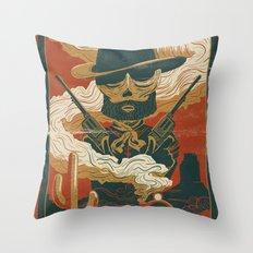 Train to Yuma Throw Pillow