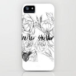 HELTER SKELTER iPhone Case