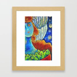 Angel with Plenty Framed Art Print