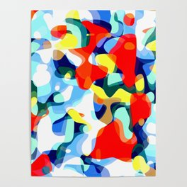 Abstract Avalanche Poster