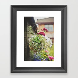 flowers... Framed Art Print