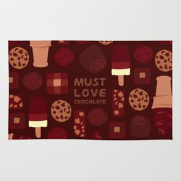 Must Love Chocolate Rug