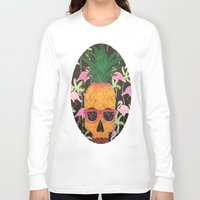 spongebob Long Sleeve T-shirts featuring Spongebob by Paula Bridgewater