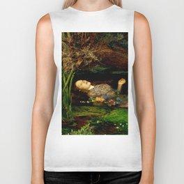 "John Everett Millais ""Ophelia"" Biker Tank"