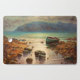 the old boat Cutting Board
