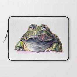 Bullfrog Snacking Laptop Sleeve