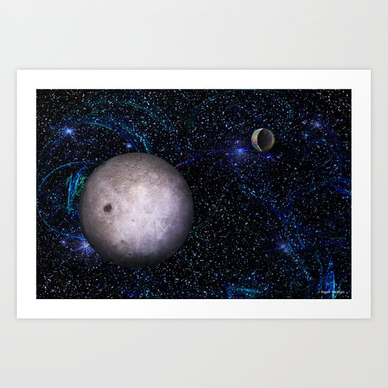 View From The Dark Side Art Print
