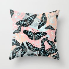 Butterflies #2 Throw Pillow