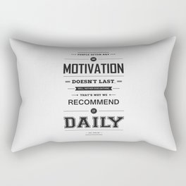 Lab No. 4 People Often Say Zig Ziglar Motivational Quote Wall Decor Rectangular Pillow